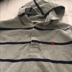 Polo Striped Hoodie